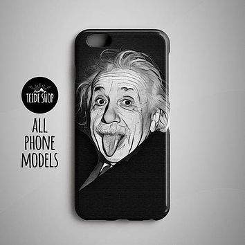 Albert Einstein iPhone 8 Case Samsung Galaxy S8 Case Huawei P10 Case iPhone 8 Plus Case Huawei Honor Case iPhone 7 Plus Sony Xperia Z5 Case