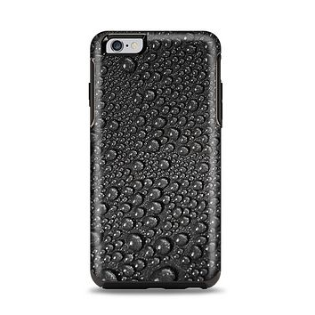 The Black Rain Drops Apple iPhone 6 Plus Otterbox Symmetry Case Skin Set