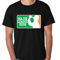 Major League Irish Saint patricks men t-shirt