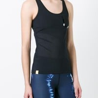 Monreal London Perforated Racerback Tank Top - Farfetch