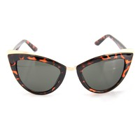 On The Up And Up Sunglasses - Tortoise