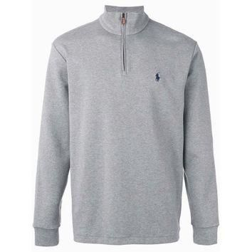 Polo Ralph Lauren Half Zip Pullover Sweater Andover Grey Heather XXL 2XL - Walmart.com