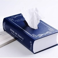 Book Style Paper Towel Tissue Box - $33 | The Gadget Flow