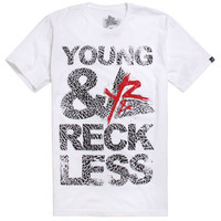 Young & Reckless Blocked Out Cement Tee at PacSun.com