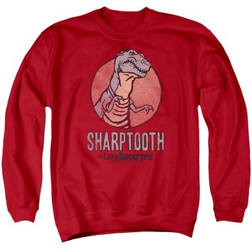 Land Before Time - Sharptooth Adult Crewneck Sweatshirt
