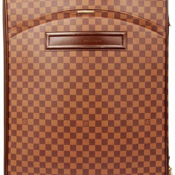 Louis Vuitton Pegase70 Roller Luggage With Garment 5388 (Authentic Pre-owned)