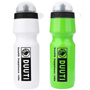 Lightweight 750ml DUUTI Portable Outdoor Sports Water Bottle Cycling Bicycle Eco-Friendly Water Bottles with Transparent Plastic