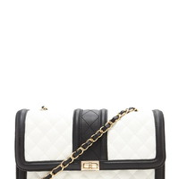 Quilted Faux Leather Crossbody | Forever 21 - 1000170894