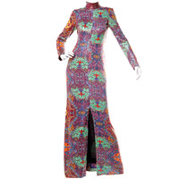 Malcolm Starr by Elinor Simmons Vintage 70's Sequin Maxi Dress