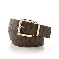 MICHAEL Michael Kors® Logo Reversible Belt at www.elder-beerman.com