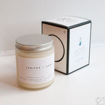 Scent of Iceland Juniper Sage Candle