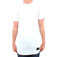 Men's White Extended Imperial  Tee Shirt