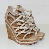 Cream Of The Crop Cream Wedge Heels