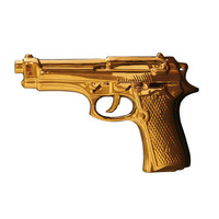Gold Plated Ceramic Gun