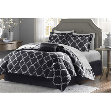 Madison Park Essentials Merritt Comforter Set & Reviews | Wayfair