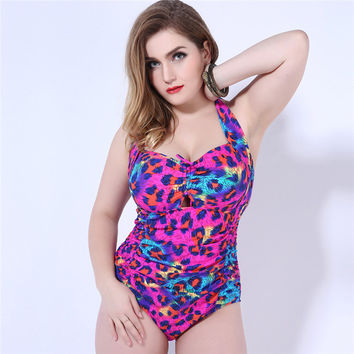 Sexy Swimsuit Hot Beach New Arrival Summer Plus Size Swimwear Floral Bikini [6532756679]