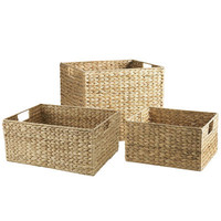 Carson Shelf Baskets - Natural