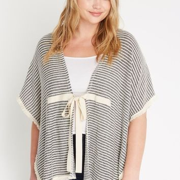 Grayson Striped Cover Up Plus Size