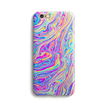 Molten rainbow - iPhone 7 case, Samsung Galaxy S7 case, iPhone 6, iPhone 7 plus, iPhone SE, iPhone 5S, 1C011A