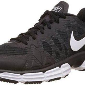 Nike Mens Dual Fusion Tr 6 Black/White/Mtllc Slvr/Pr Pltnm Training Shoe 12 ...