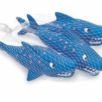 MUD PIE SHARK BATH TOY SET