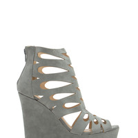 Teardrop Cut-Out Platform Wedges GoJane.com