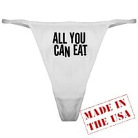 All You Can Eat Classic Thong