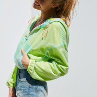Without Walls Sunset Mila Popover Windbreaker Jacket | Urban Outfitters