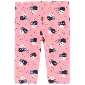 Fendi Baby Girls 'Monster' Leggings