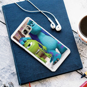 Monsters Inc sulley holding mike Samsung Galaxy S7 Edge Case Planetscase.com