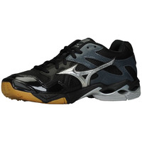 Mizuno Women's Wave Bolt 4 Volleyball Shoes - Black Silver