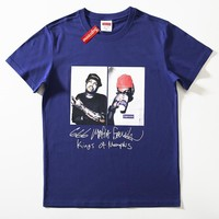Cheap Women's and men's supreme t shirt for sale 85902898_0041