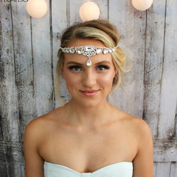 Bridal Hair Jewelry Wedding Head Piece from hair floaters