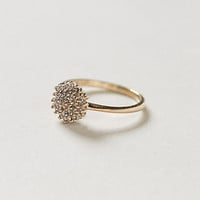 Vintage Diamond Snowburst Lover's Ring