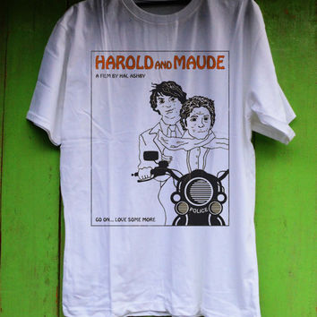 Harold and Maude movie Shirt TShirt Tee Shirts Black and White For Men and Women Unisex Size from metroempower