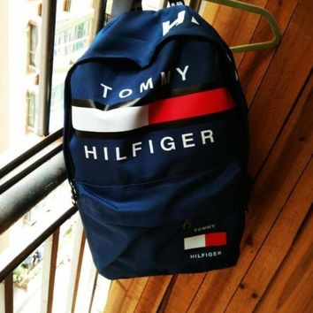 DCCKW2M TOMMY HILFIGER: Casual Sport Laptop Bag Shoulder School Bag Backpack H Z