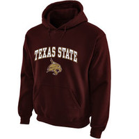 Texas State Bobcats Sweatshirts - Texas State Hoodies, Texas State University Sweatshirt, Bobcat Fleece, Basketball Hoody - Go TSU Bobcats!