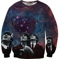 ☮♡ Beatles Galaxy Sweater ✞☆