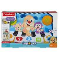 Fisher-Price Laugh & Learn Puppy Kick & Play Crib Piano