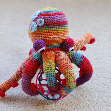 Amigurumi Colorful Octopus
