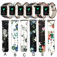 Leather Strap Replacement Watch Band For Apple Watch 38/42mm*