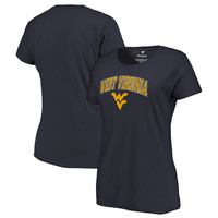 West Virginia Mountaineers Fanatics Branded Women's Campus T-Shirt - Navy