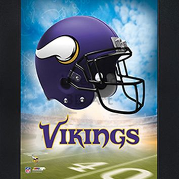 Minnesota Vikings | 3D Art | By PFF | Framed | 3-D | Lenticular Artwork | NFL Licensed
