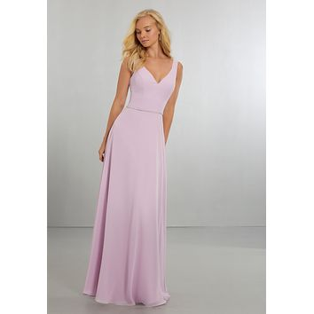 Morilee Bridesmaids 21557 Simple Chiffon Bridesmaid Dress