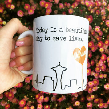 Grey Anatomy McDreamy Quote Mug