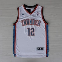 Oklahoma City Thunder Basketball Jersey  #12 ADAMS NBA Adidas  Jersey