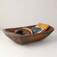 Vintage Wooden Catch-All Dish
