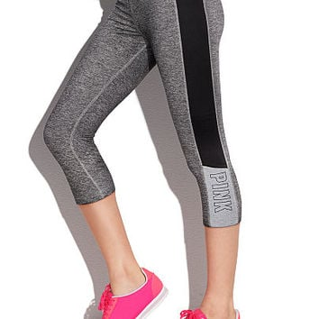 Ultimate Yoga Crop Leggings - PINK - Victoria's Secret