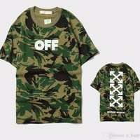 Off-White Camouflage Tee Arrows