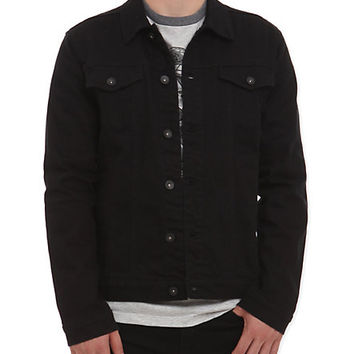 RUDE Black Denim Jacket | Hot Topic